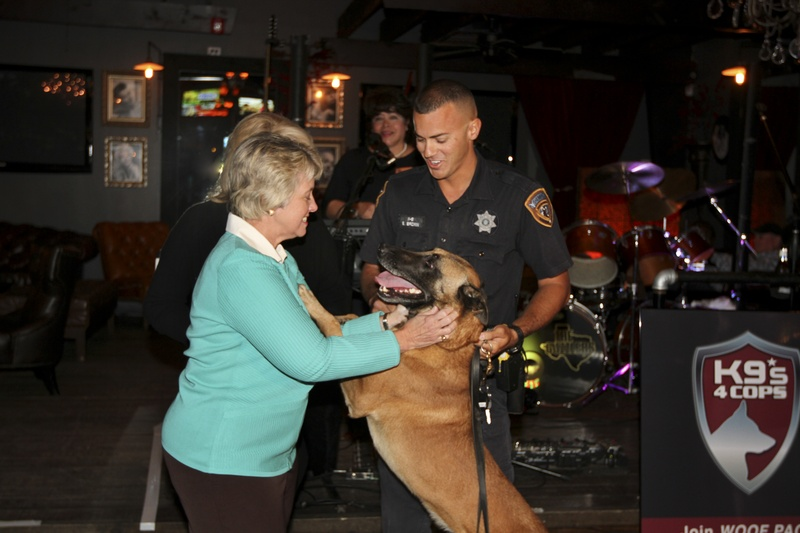12-Mayor-Annise-Parker-and-dog-Bret-with-Shawn-Brown-at-K9s4COPS-Unleased-2013_155220