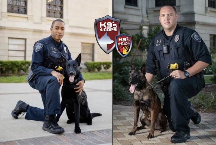 Non-Profit K9s4COPs to Help Texas A &M University Sniff Out Campus Safety